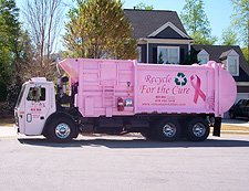 Pink Trash Trucks